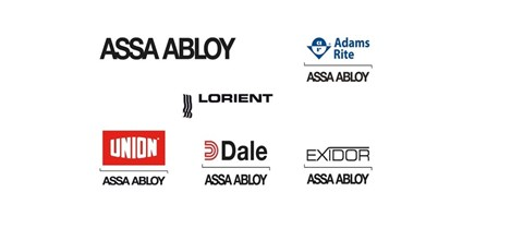 Safe and Secure Locksmith Portsmouth stock Assa Abloy, Adam Rite, Lorient, Dale, Exidor locks products.